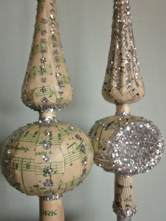 Brand-new 156 best Vintage Xmas tree toppers images on Pinterest | Christmas  EN79