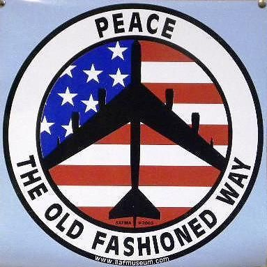 Peace The Old Fashioned Way Decals
