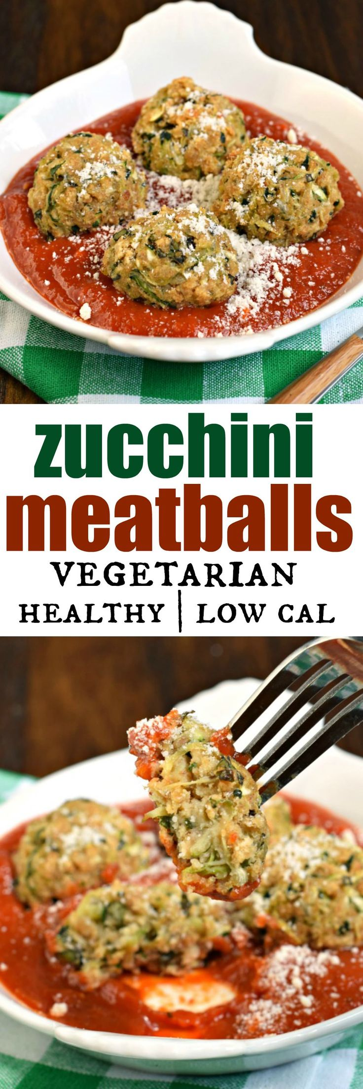 You'll love these meatless Zucchini Meatballs for a healthy, fresh vegetarian dinner! Serve them up with your favorite pasta sauce and noodles for a dinner your friends and family will love!