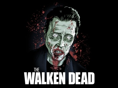 The Walken Dead T-Shirt    The Walken Dead shirt made of 100% cotton. Is it a virus? We don't' know where they come from but they can quote Walken and that's matters.  You can the original Walken Dead tee right here   http://www.tshirtbordello.com/Jasons-Deli-T-Shirt