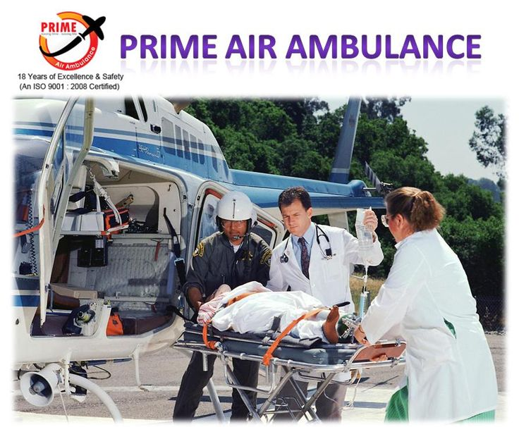 Call for Air Ambulance Services in Patna