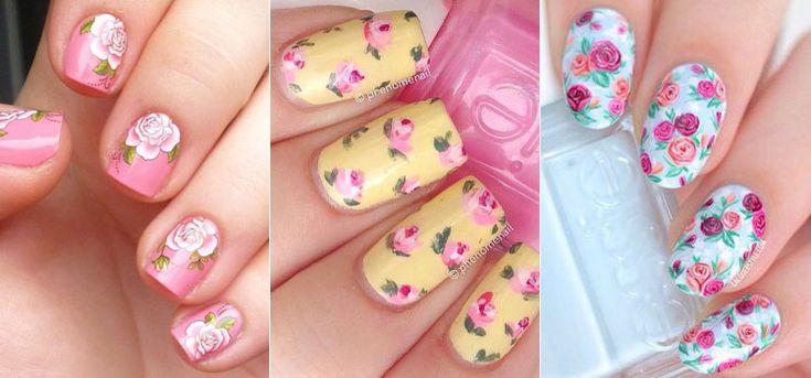 Цветочный маникюр: весна на кончиках пальцев