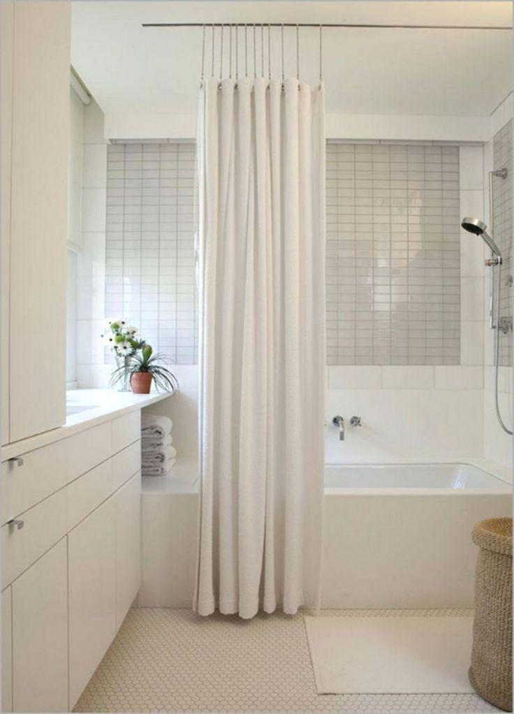15 Gorgeous Stunning Bathroom Curtain Ideas For Beautiful Bathroom 2019 Shower Diy In 2020 Unique Shower Curtain Modern Shower Curtains Bathroom Shower Curtains
