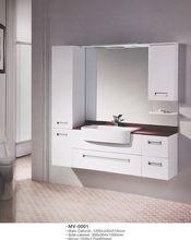 2015 modern pvc ayna banyo vanity banyo dolabı