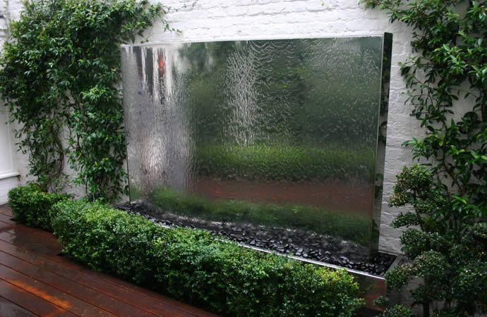 Water Wall Construction 4 | Water Walls | Garden Water Features | Process | Garden Design London |
