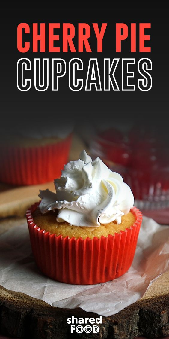 With one simple box of cake mix and some pie filling you can pretty much make any one of your favorite pies into a cupcake for those pie haters in your life. All the same pie flavor with a soft and fluffy cupcake crust!