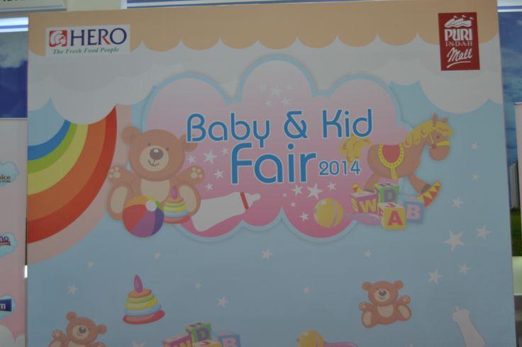 Baby and Kids Fair 2014 yang diselenggarakan pada Sabtu 29 Maret 2014 di Atrium Mall Taman Anggrek