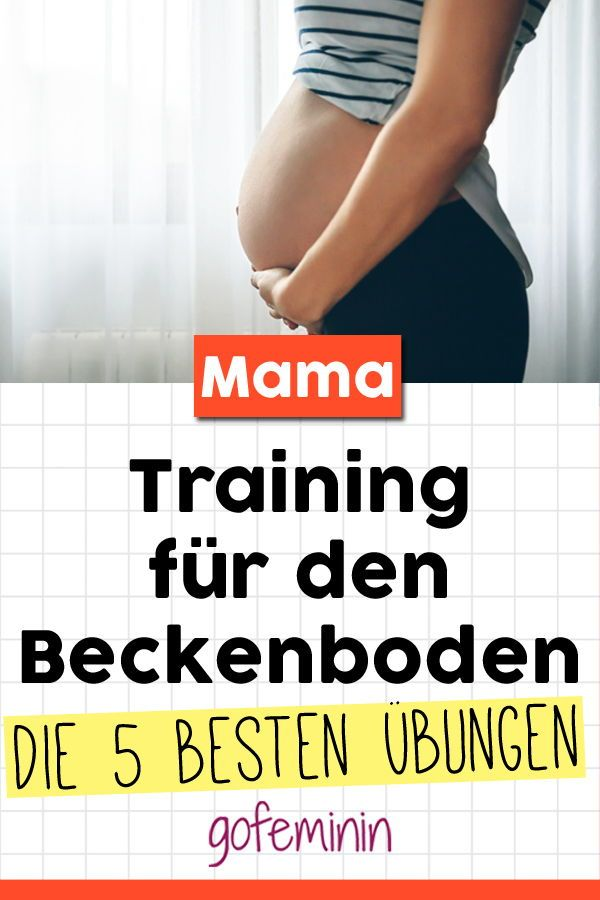 Training für den Beckenboden: Diese 5 Übungen sollte jede Frau kennen! – Mamasein // Tipps fürs Familienleben