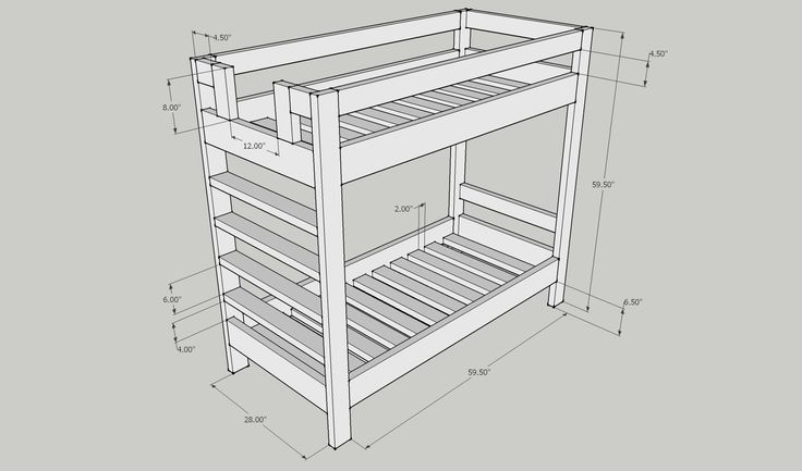 2×4 bunk bed plans Easy to build bed plans These bed plans require minimal equipment and use regular 2×4 construction A reader s version of a bunk bed based on my plans Feb 18 2014 Animation and Basic Instructions on how to construct a Simple 2×4 Bunkbed Hanging Nautical Bunk Beds Boys Bedroom Theme Ideas I really wanted to build them inexpensively and found your site and your plans helpful The design of your beds was really clean and didn t look like 2×4 Get free bunk bed plans for very …