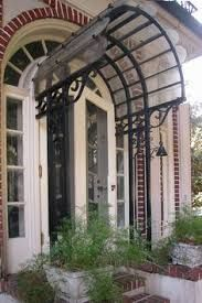 Image Result For Wrought Iron Glass Dome Front Door Canopy