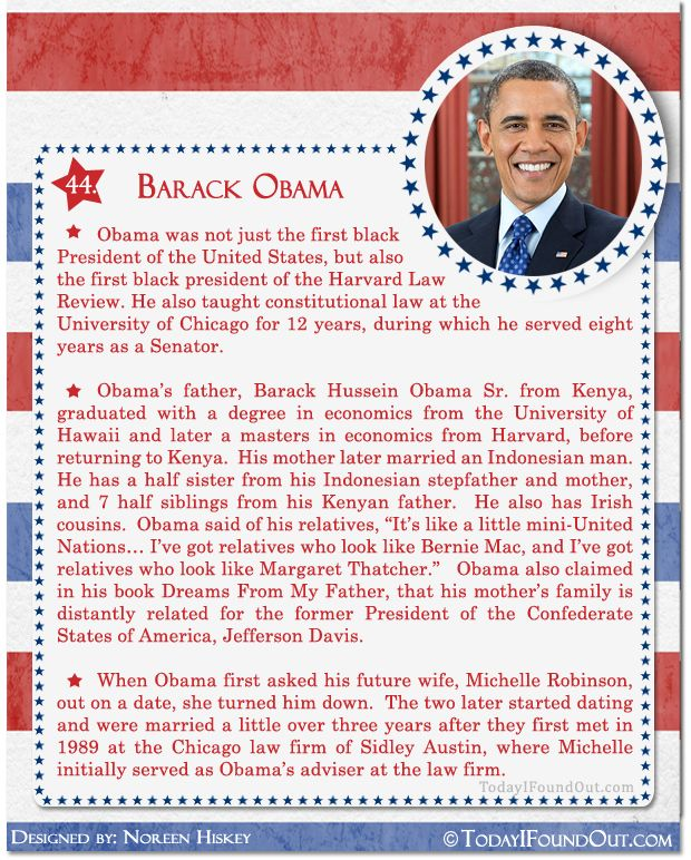25 best ideas about facts about barack obama on pinterest