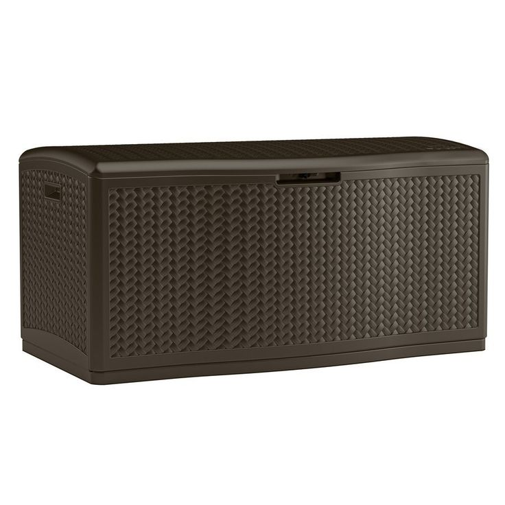 Shop Suncast  124-gal Wicker Deck Box at Lowe's Canada. Find our selection of deck boxes at the lowest price guaranteed with price match + 10% off.