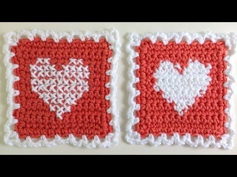 Free Crochet Cross Stitch Afghan Patterns : Instarsia Crochet vs. Cross Stitch Crochet - Free Cross ...