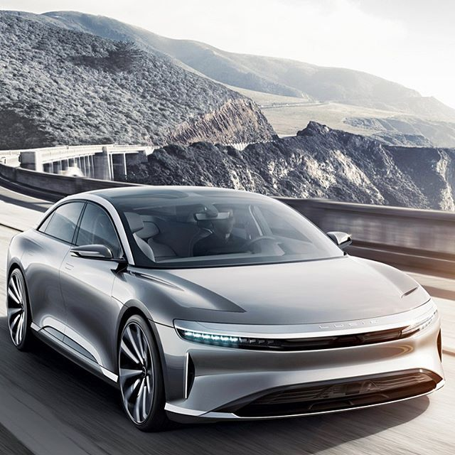 Is this the first real competitor for @TeslaMotors? The new all-electric Air from Californias @LucidMotors is powered by two electric motorsone each in front and backthat together generate 1000 hp and enable a zero-to-60-mph time of 2.5 seconds. The Airs battery provides a 300-mile range that can be upgraded to 400 miles. The base model is priced at about $100000 and the fully loaded Launch Edition costs $160000. First deliveries are expected by the end of 2018. Do you think Lucid will give…
