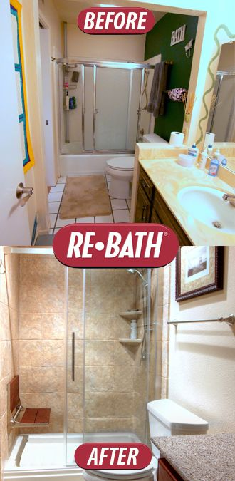 104 best re bath before after images on pinterest for Crazy bathroom ideas
