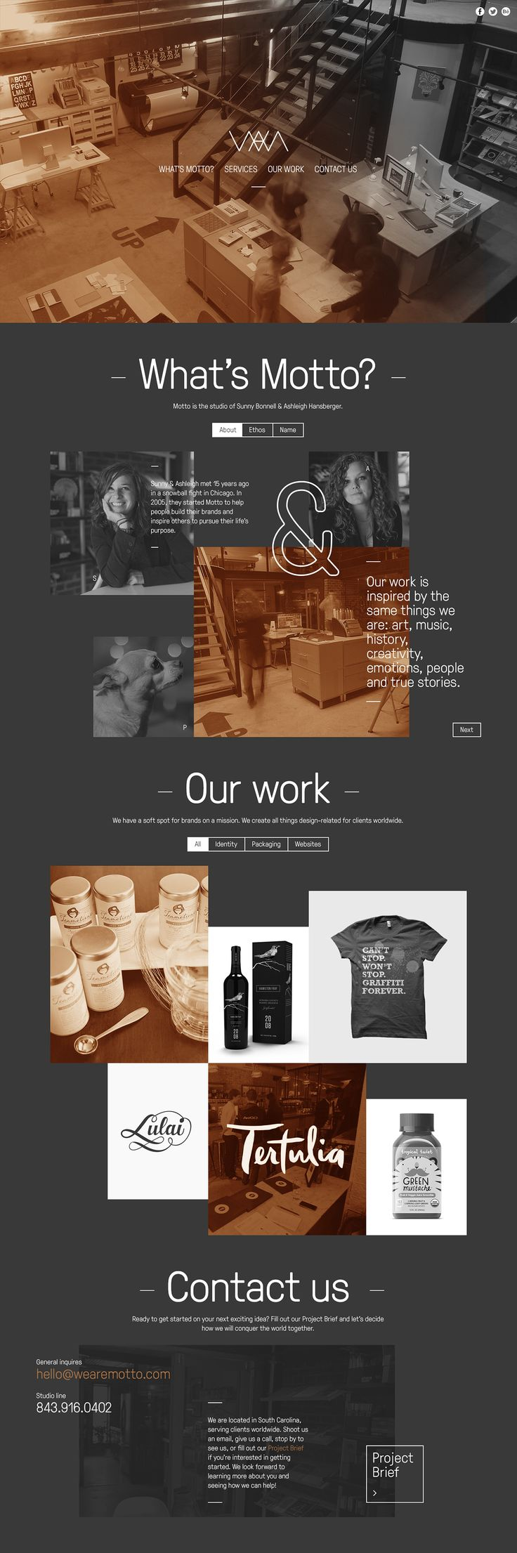 We Are Motto by Maciej Mach | #webdesign #it #web #design #layout #userinterface #website #webdesign