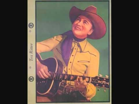 TEX RITTER Boogie Woogie Cowboy CAPITOL 1950 - YouTube