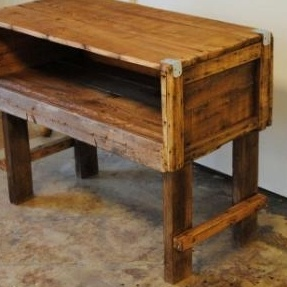 Reclaimed Wood TV Stand custom made by Sb Designs