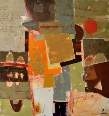 "Saatchi Art Artist Matteo Cassina; Painting, ""Il gomitolo rosso"" #art"