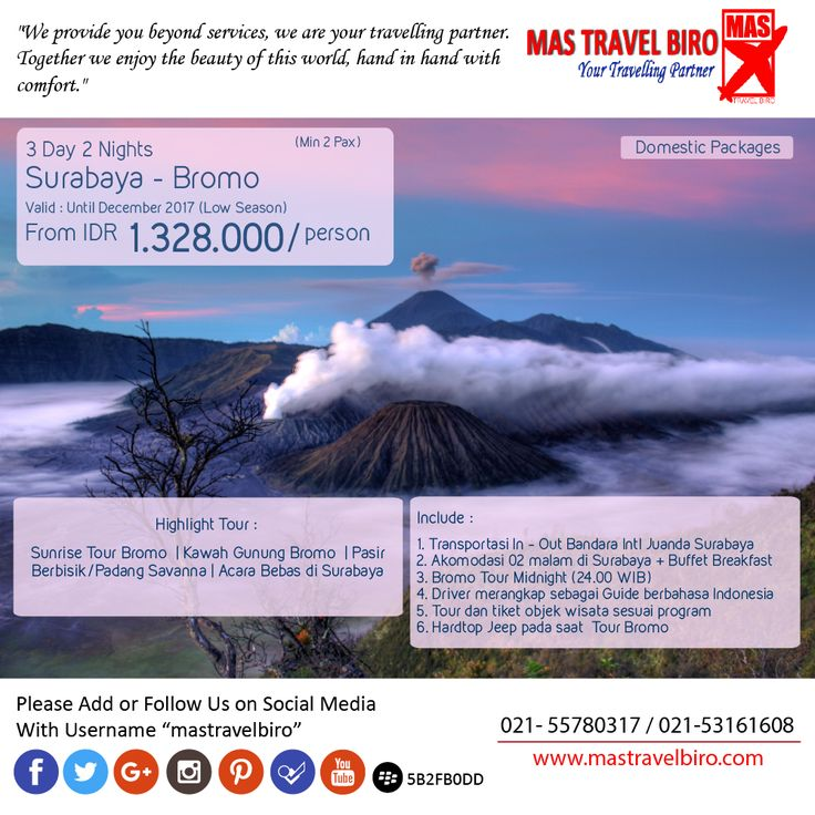 3D2N Surabaya - Bromo , Only from 1.328.000/Person , Book Now ! ;) #mastravelbiro #bromo #surabaya #tour #jatim