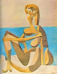 Art conemporani, Bañista sentada de Picasso, Cubismo