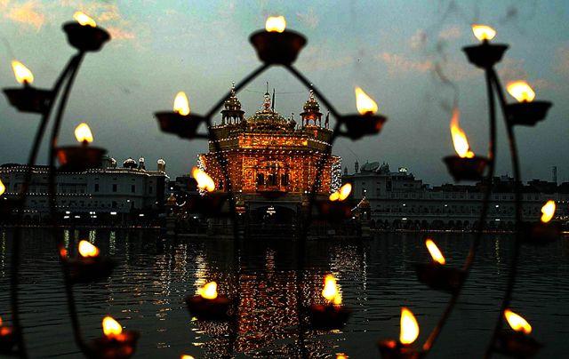 Golden Temple Diwali Decoration