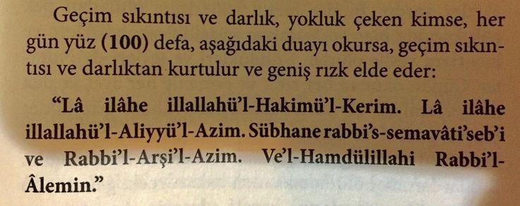 # Shehvar... # Dr Arif Arslan ( Dua ile ruhsal tedavi kitabından.)