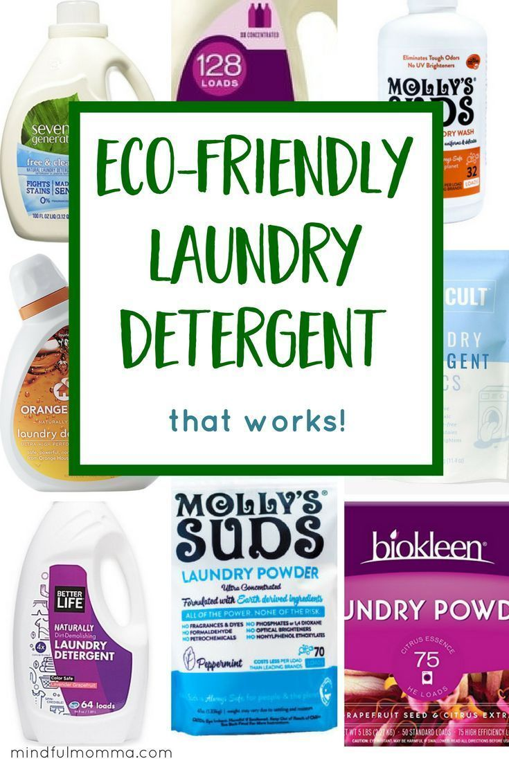 The Best Eco Friendly Laundry Detergent Brands That Work Eco Friendly Laundry Eco Friendly Laundry Detergent Detergent Brands