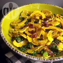 Warm Pumpkin and Spinach Salad @ allrecipes.com.au
