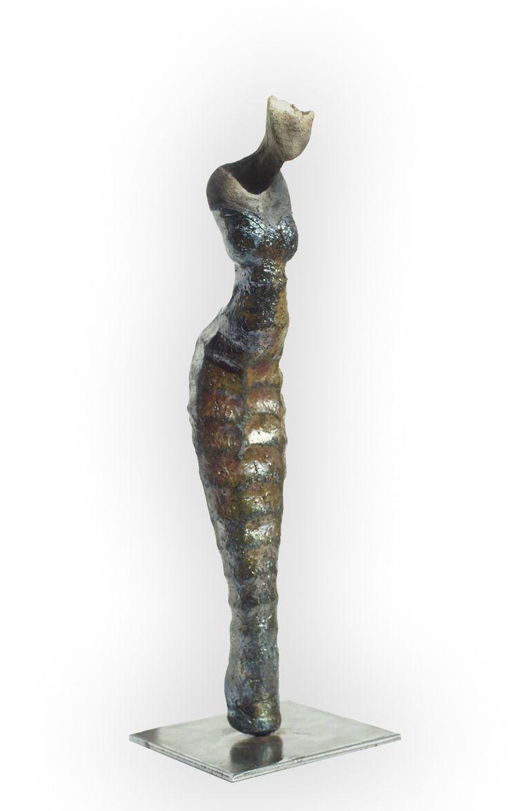 ceramic Raku by Bernard Lancelle