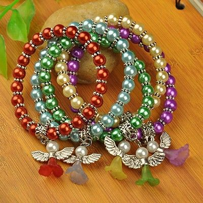 PandaHall Jewelry—Fashion Zinc Alloy Slip-on Bangles with Enamel   PandaHall Beads Jewelry Blog