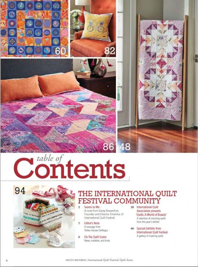 International Quilt Festival Quilt Scene 2017/2018 Print Edition