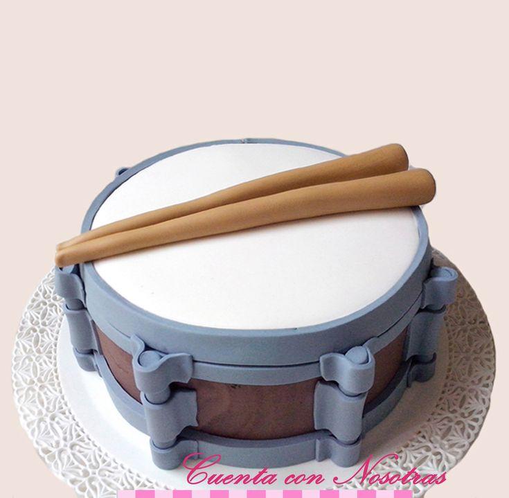 Torta tambor, Drum Cake, Cuenta con Nosotras