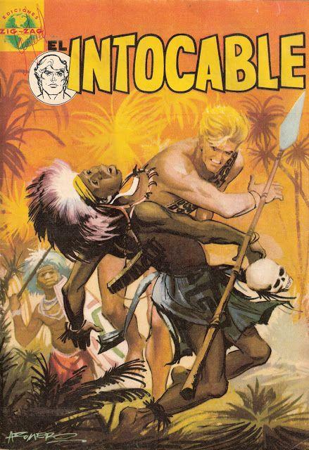 Mizomba: El Intocable # 1, 1966 (Comic Chile)