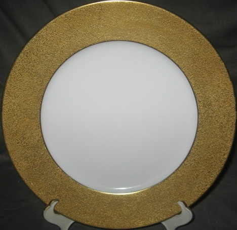 Raynaud Granite Like Gold Charger Service Plate Really
