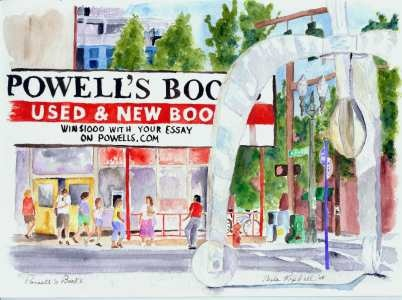 "Powell's Books in Portland Oregon!!!!  ""City of Books"""