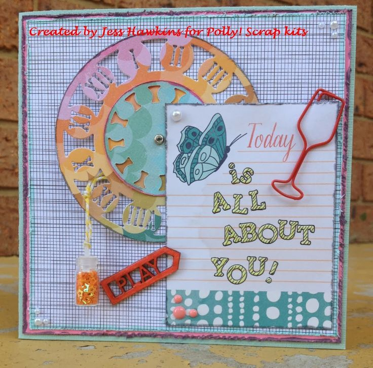 Polly! Scrapbooking & Pocket Scrapbooking Kits: Polly! Guest Designer Jess - 4 Cards using Raspberry Shortcake