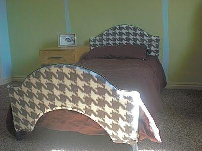 Cheap plastic disney toddler bed makeover!