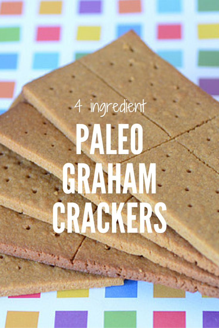 Paleo Graham Crackers are made with almond flour and lightly sweetened with yacon! With a mere 4 ingredients this gluten-free Graham Cracker recipe is quick and easy to make. Finally, a healthy homemade graham cracker recipe with no mystery ingredients! It's the perfect snack for kids and adults too!