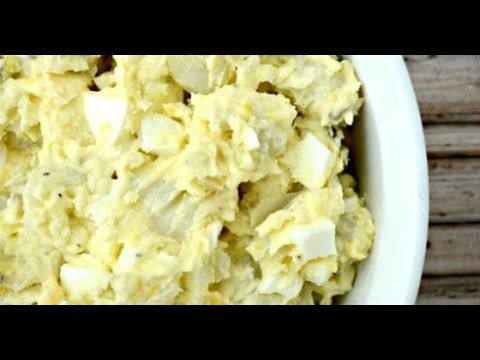 Potato Salad Recipe - How to Make Southern Potato Salad - YouTube