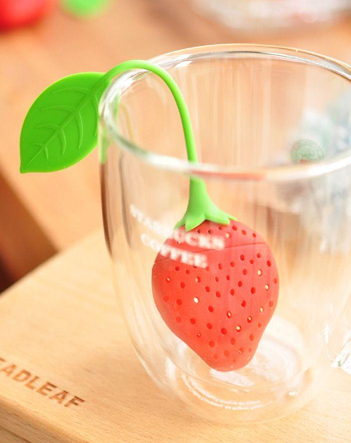 Silicone strawberry tea infusore sciolto foglia di tè colino di erbe spice infusore filtra tools in   [Xlmodel]-[prodotti]-[31399]   Più popolari       Creativo gadget da cucina di verdure spiralizer affettatrice strumenda Infusi di tè su AliExpress.com | Gruppo Alibaba
