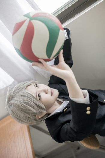 KANADE as Sugawara Koshi (Haikyuu!!)