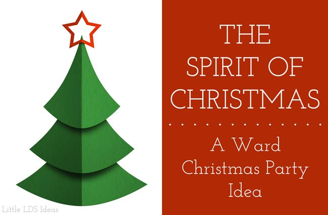 Get In The Spirit Christmas Lds Quotes: 62 Best LDS CHurch--Ward ACtivities Images On Pinterest