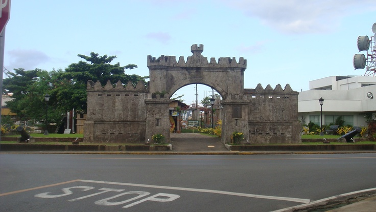The Spanish Gate at the Subic Bay Freeport Zone.