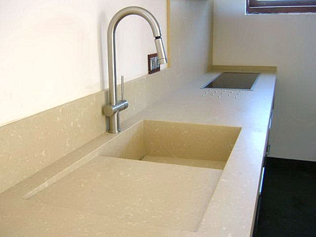 Silestone intergrated sink kitchen pinterest sinks for Silestone sink