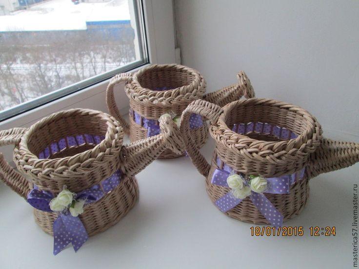 плетение из газетных трубочек: