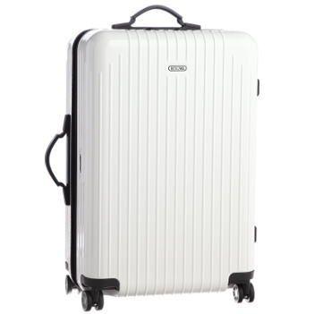 梨花さんRIMOWA(リモワ)のスーツケースを公開♡「RIMOWA(リモワ)サルサエアー ホワイト トラベルスーツケース/トランク/キャリーバッグ」