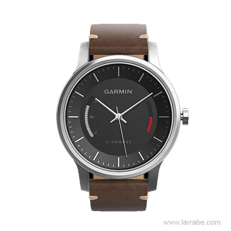 Reloj Garmin Vivomove Premium Negro, un reloj deportivo analógico con monitor de actividad integrado.  #relojesdeportivos #relojesGarmin #deportes #Garmin #moda #hombre #mujer #actividad