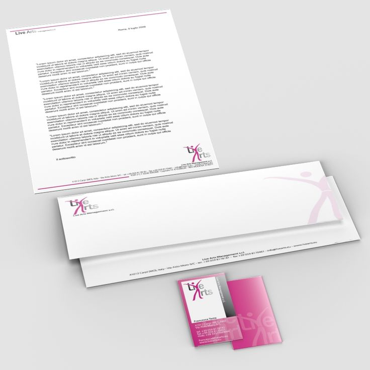 Live Arts Management Graphic #agency #theatre #dance #graphic #logo