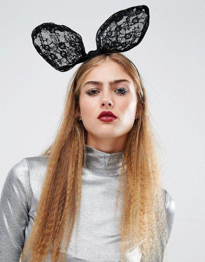 22 Accessoires Pour un Halloween Chic, Sexy, et Branché  Orelia Halloween - Bandeau lapin tendance avec noeud (24€)